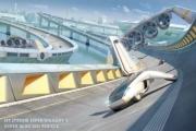 Транспорт будущего — дорога и средство передвижения составляют единое целое.